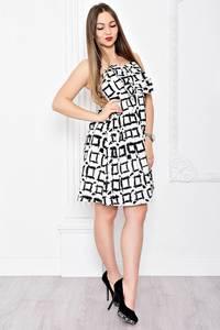 Платье короткое классическое нарядное С9144