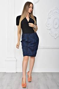 Платье короткое элегантное облегающее Т2358