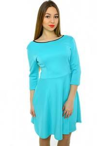 Платье короткое классическое нарядное Н2014
