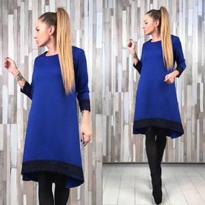 Платье короткое нарядное футляр Р2332