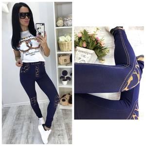 Лосины джинсовые С7480