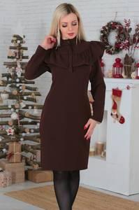 Платье короткое вечернее современное С7645