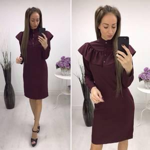 Платье короткое вечернее современное С7650