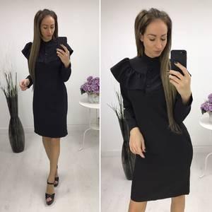 Платье короткое вечернее современное С7651