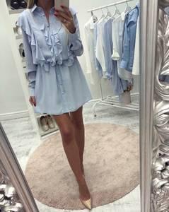 Платье короткое нарядное с длинным рукавом С8551
