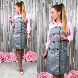 Платье короткое элегантное С8582