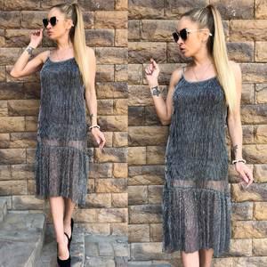 Платье короткое повседневное летнее С9402