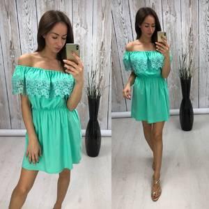 Платье короткое нарядное летнее Т0479