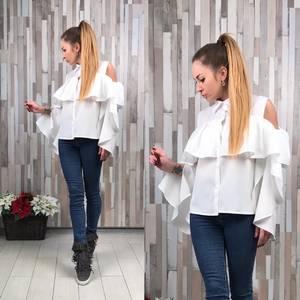 Рубашка белая прозрачная Р2852