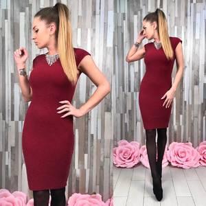 Платье короткое футляр элегантное С0802