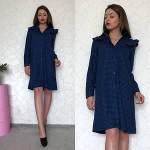 Платье короткое с длинным рукавом С7901
