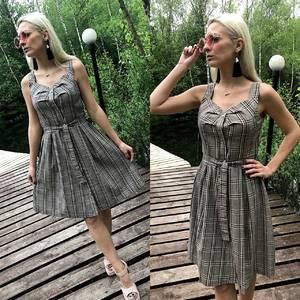 Платье короткое повседневное без рукавов Т1646